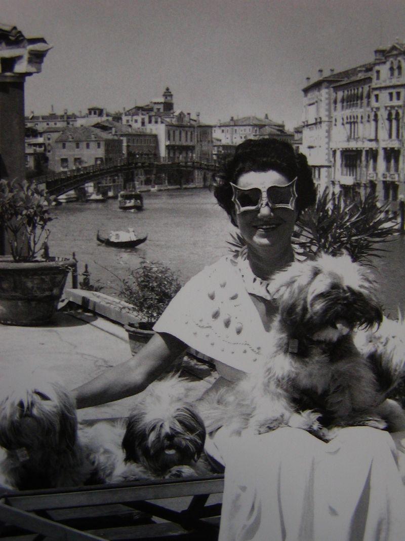 PeggyGuggenheim_late50s_Venice