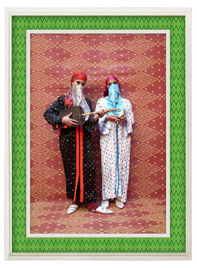 HH_Meriem & Khadija Marmouche_2012_Metallic lambda print on dibond with wood & plastic mat frame_136x101cm_650