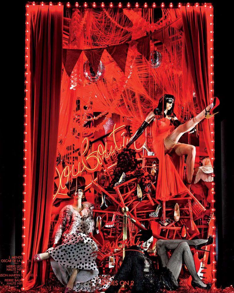 7 Kicking up Heels- Windows at Bergdorf Goodman