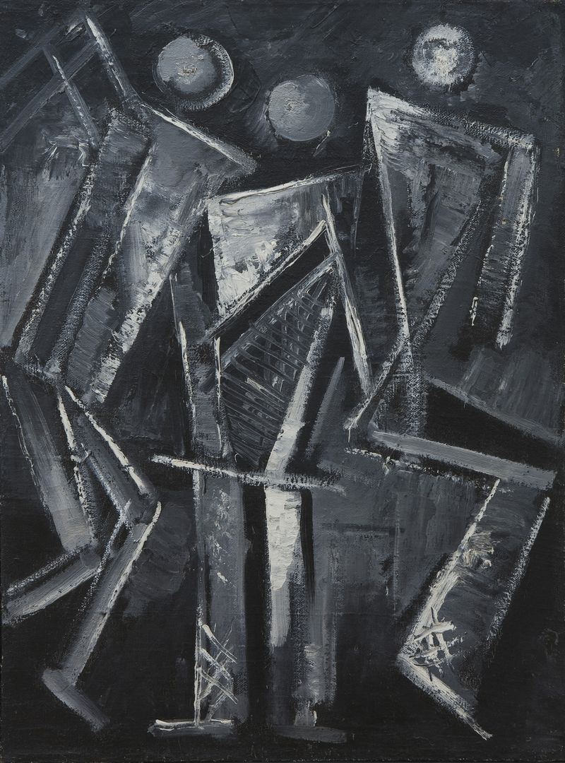10 Stepanova, Drie figuren, 1920