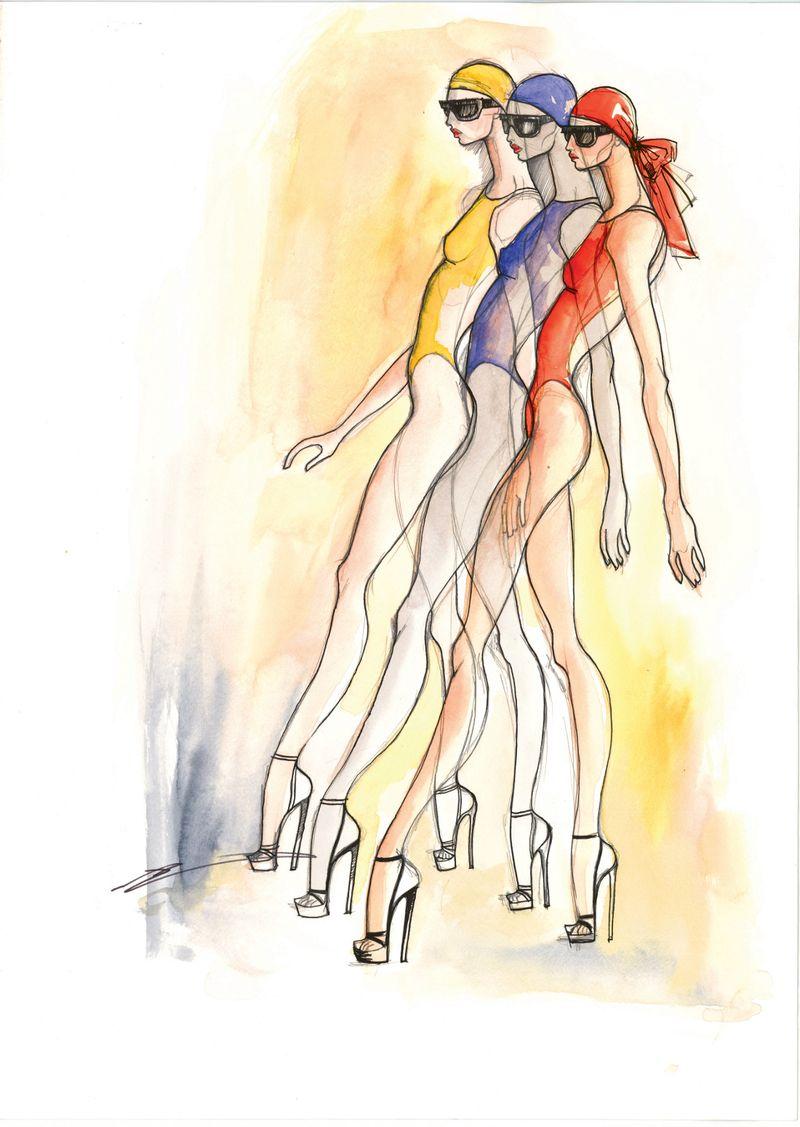 1. Molly Grad Sketches_Biarritz  2011_LAPM_edit