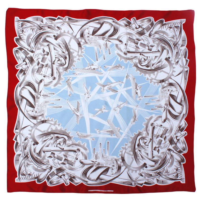 Scarf, The Soviet Aircraft Industry, 1927, Courtesy GRAD Gallery for Russian Artsand Design