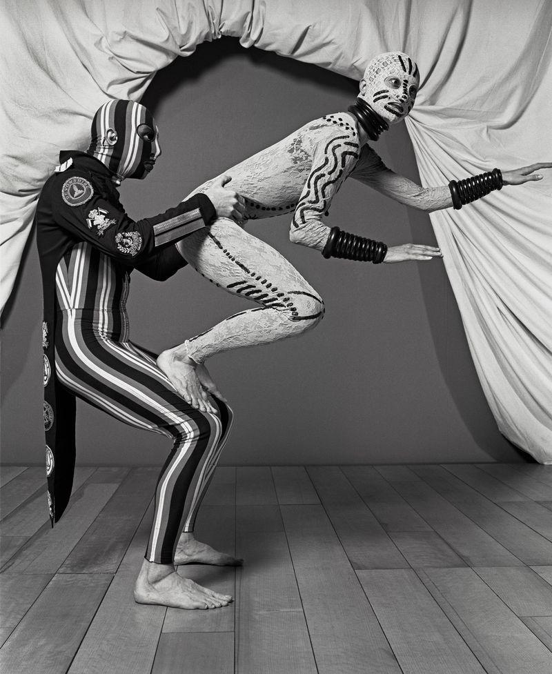 Costumes-by-Jean-Paul-Gaultier-for-Façade-un-divertissement-choreography-for-eleven-dancers-by-Régine-Chopinot-La-Coursive-La-Rochelle-1993.-Photograph-©-Eric-Richmond.