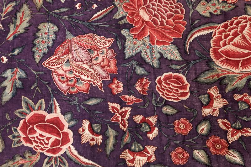 6. Detail Sitsen palempore met bloemen © fotostudio Noorderblik_EDIT