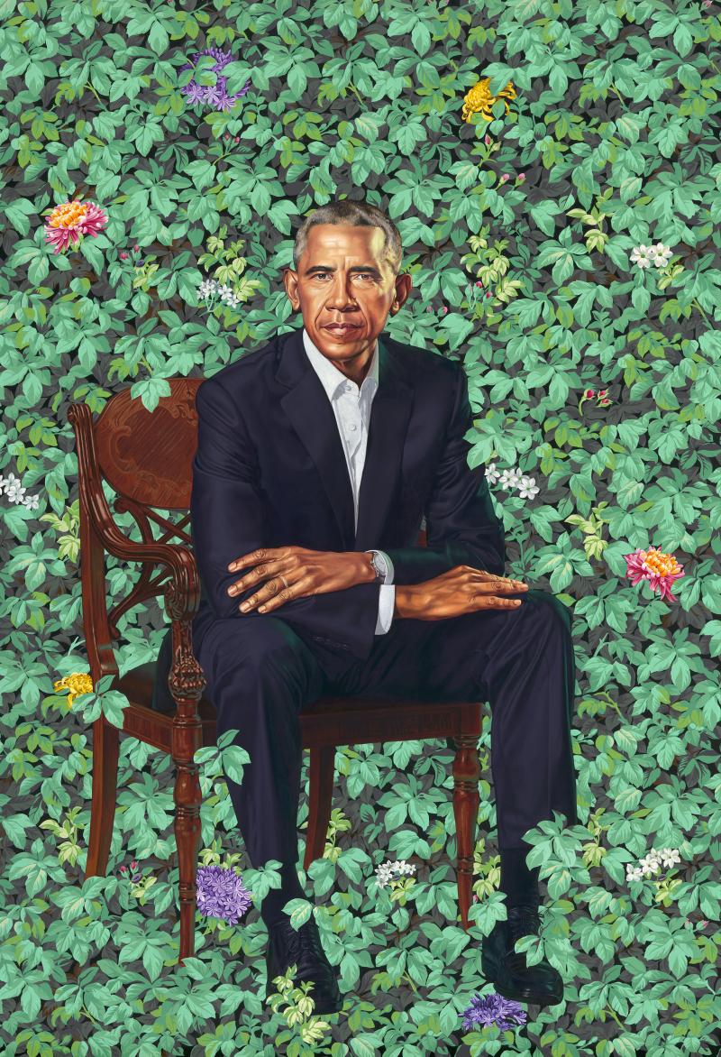 Kehinde Wiley_Barack Obama