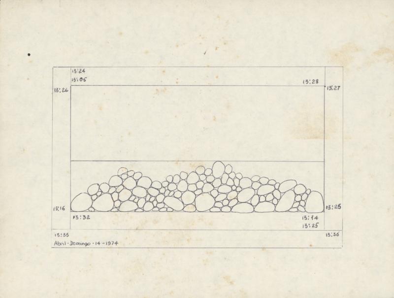 Teresa Burga_Untitled  14 -15.04.1974  1974