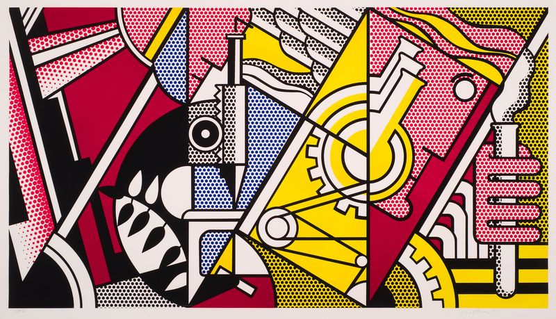 RoyLichtenstein_PeachThroughChemistry