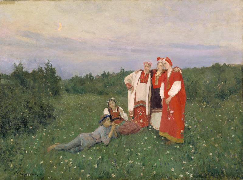 2_Konstantin_Korovin_The_Northern_Idyll_1892._The_State_Tretyakov_Gallery