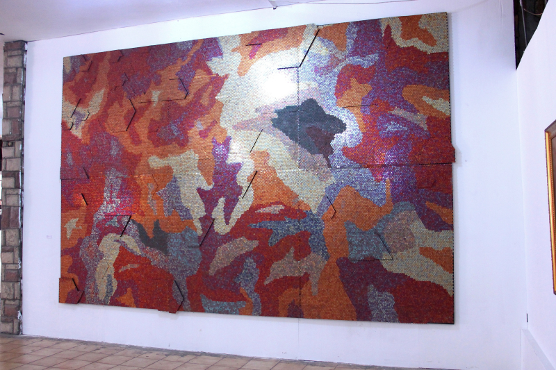 Yaw Owusu  All that Glitters  2016  courtesy the artist  Gallery 1957  Accra and Macaal  Marrakech
