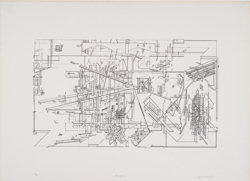 Daniel Libeskind  Micromegas  The Garden  1979 © Daniel Libeskind. From the Collection of the Alvin Boyarsky Archive