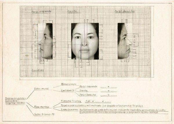 Teresa-Burga.-Collage-a-modo-de-boceto-para-Autorretrato