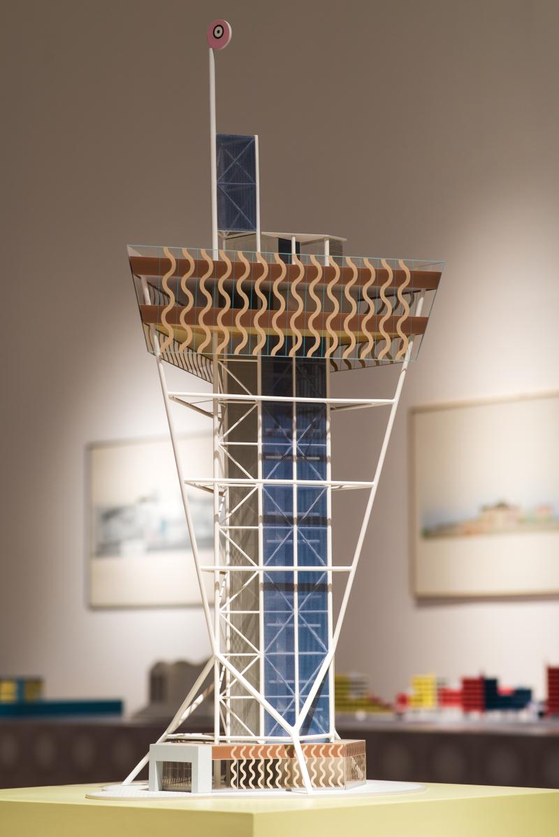 Abet Laminati_Atelier Mendini Le Architetture_Triennale_Torre Suncheon Bay_d