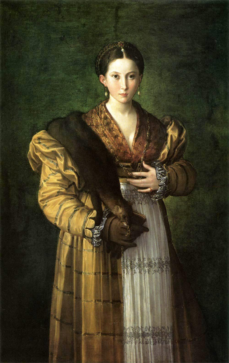 Parmigianino_Anthea