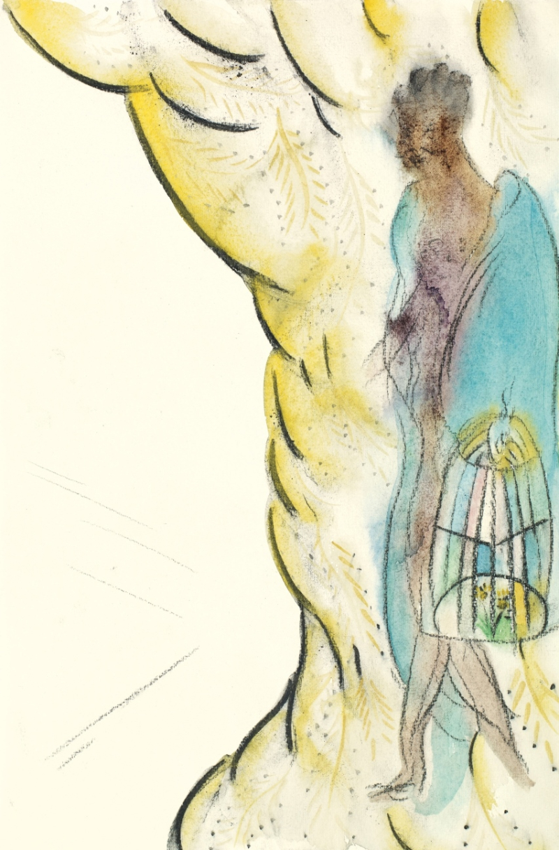 X9575 Chris Ofili_The Caged Birds Song (Him)_2014 retouched