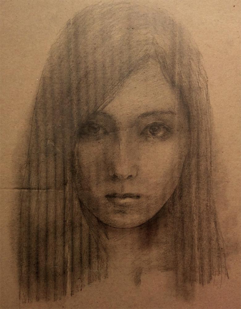 SuzumeUchida_ sleeping drug self-portrait
