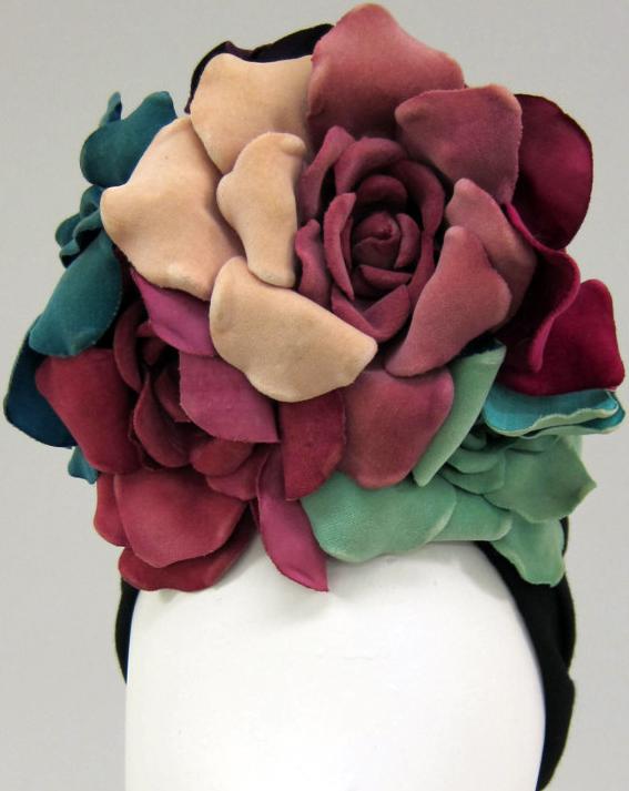 LillyDache_Turban 'Fleurs Oversize'1940-45_c