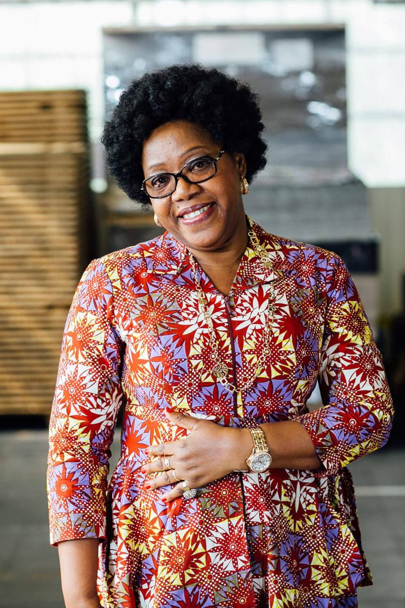 Vlisco-Ambassador-Euphrasie-Ivory-Coast