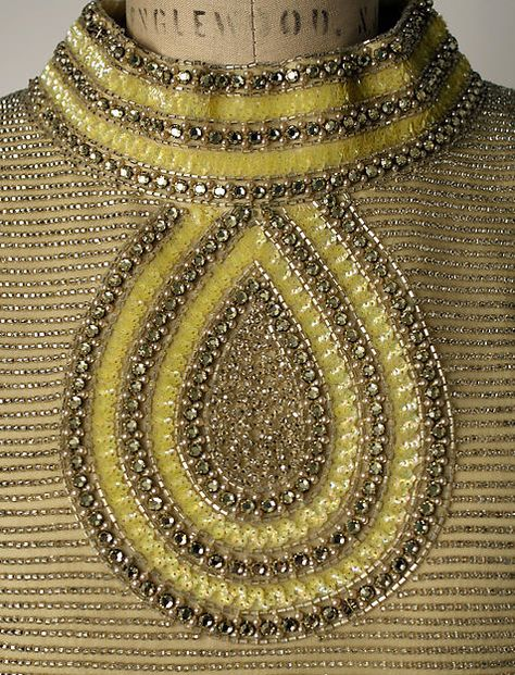 Mila Schön Evening dress detail - Italian 1963-64