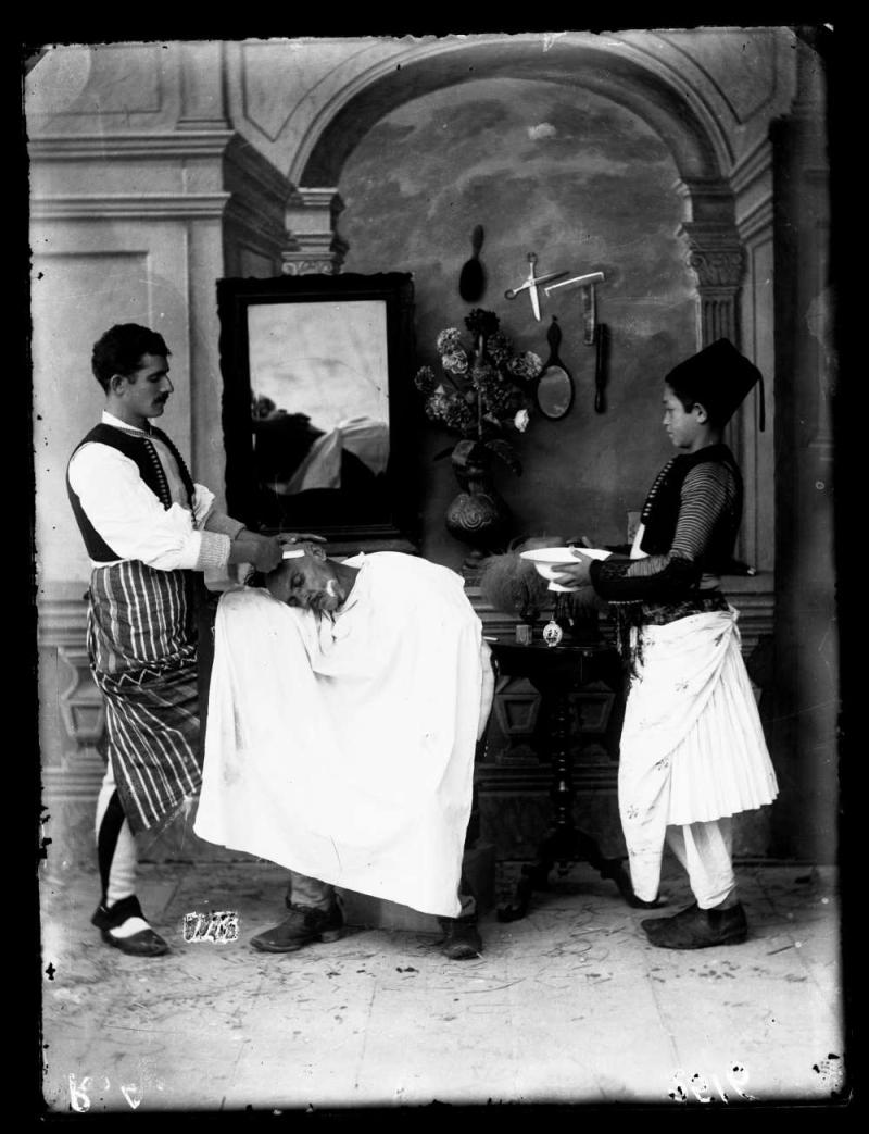 Barber from Shkodra  Kel Marubi