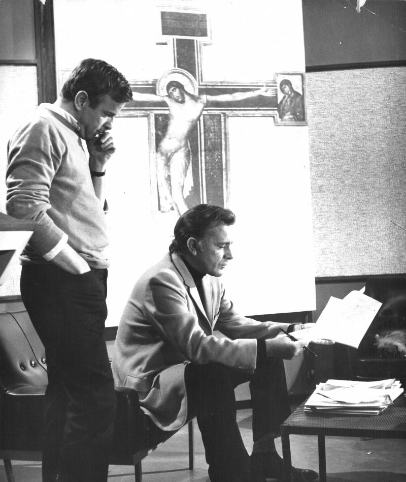 Maestro con Burton