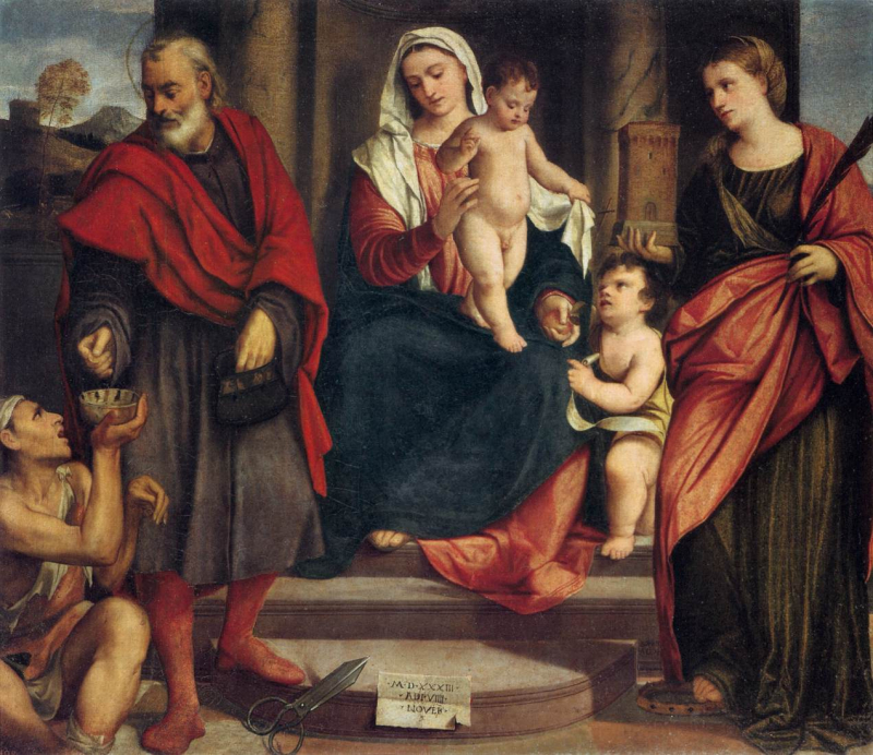 Madonna of the Tailors