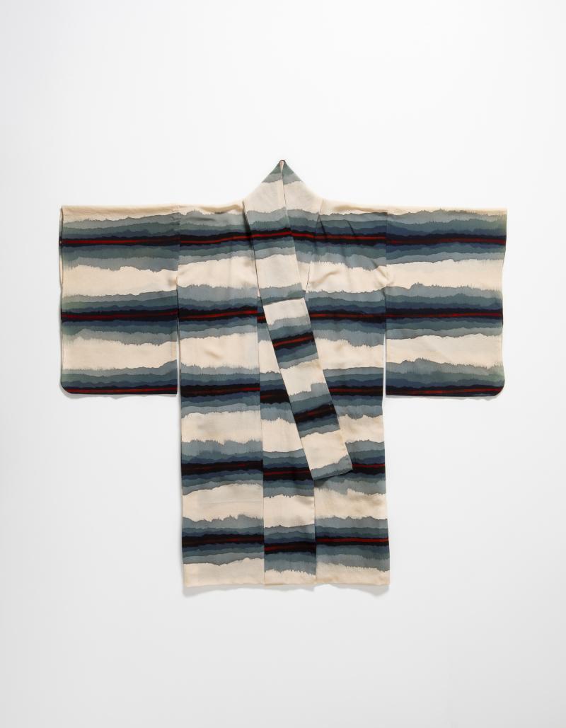 Vintage kimono  silk  date unknown. Photo by Marinco Kojdanovski