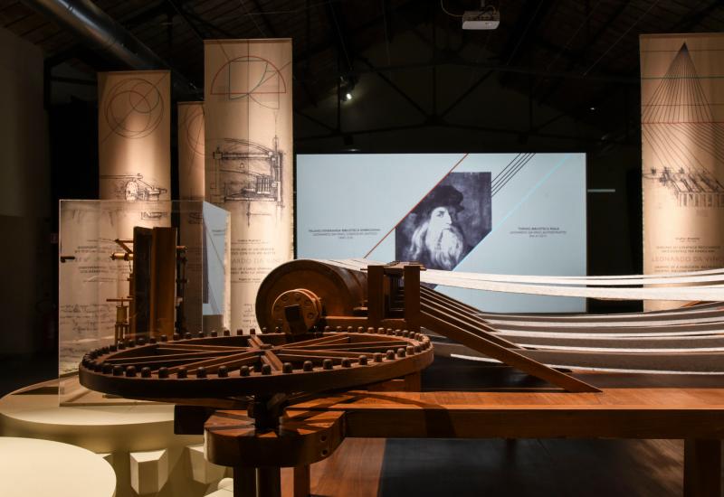 Leonardo da vinci  l_ingegno  il tessuto_museodeltessutoPrato_marcobadiani_b