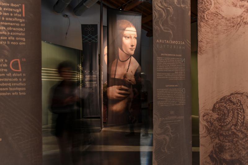 Leonardo da vinci  l_ingegno  il tessuto_museodeltessutoPrato_marcobadiani_c