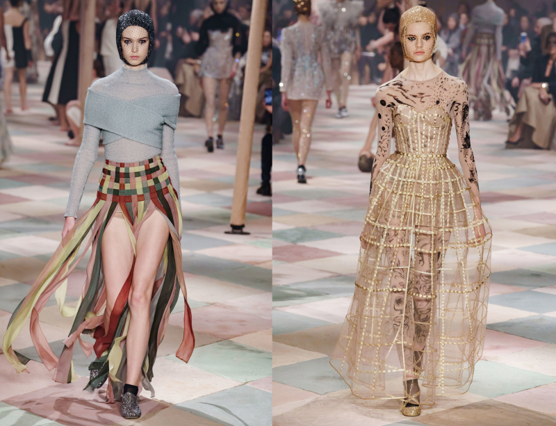 Can The Fashion Circus Still Entertain Dior Haute Couture S S 19 Irenebrination Notes On Architecture Art Fashion Fashion Law Technology