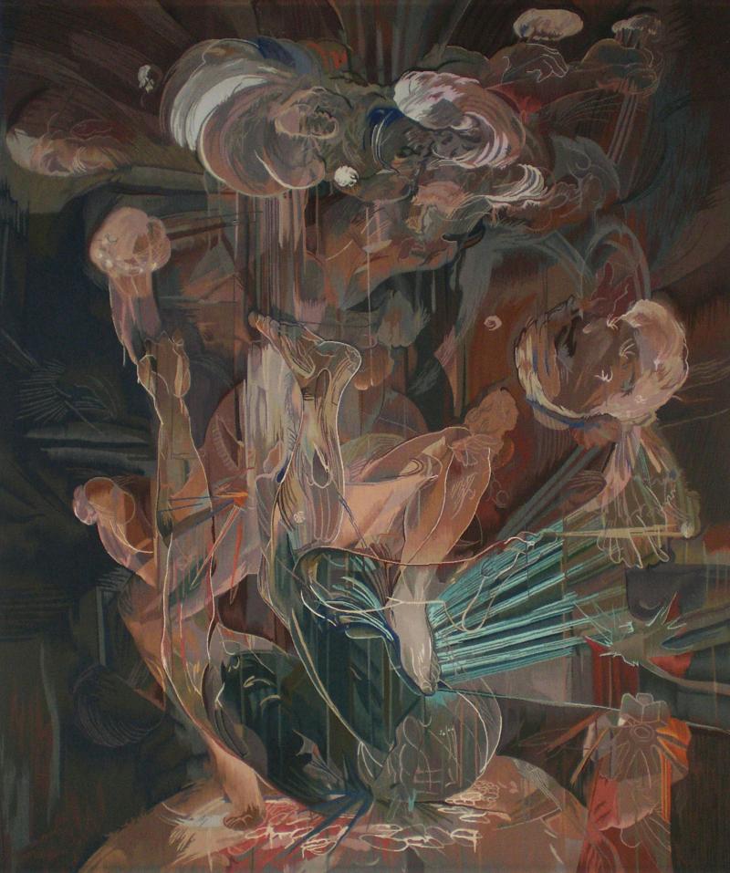 Francesca Lowe. Trump. Tapestry. 2009