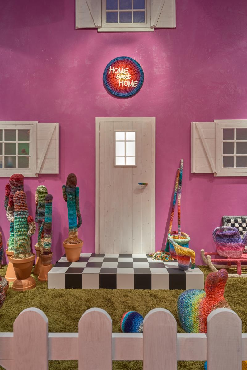 01_Installation view at Showroom Missoni_Home Sweet Home_Alessandra Roveda_ph. Christan Michele Michelsanti_Courtesy Missoni