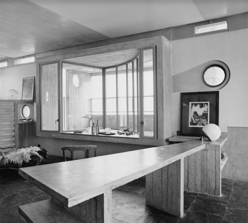 Umberto Riva  Appartamento Riva in via Paravia  1965-67. (Foto Giorgio Casali – Università IUAV di Venezia  Archivio Progetti  Fondo Giorgio Casali)