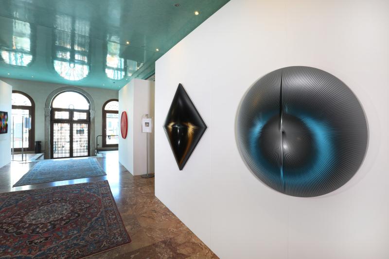 2 Alberto Biasi. Tra realtà e immaginazione  exhibition view  Palazzo Ferro Fini  Venezia  7.05-18.07.2019