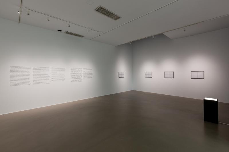 02_Installation View  Ryoji Ikeda Solo Exhibition at Taipei Fine Arts Museum (TFAM). ©TFAM