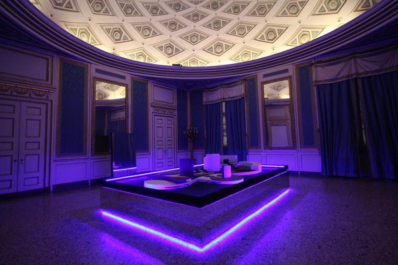 03_Exhibition view  Nanda Vigo  Palazzo Reale  Milano  2019  opera _Arch arcology_a