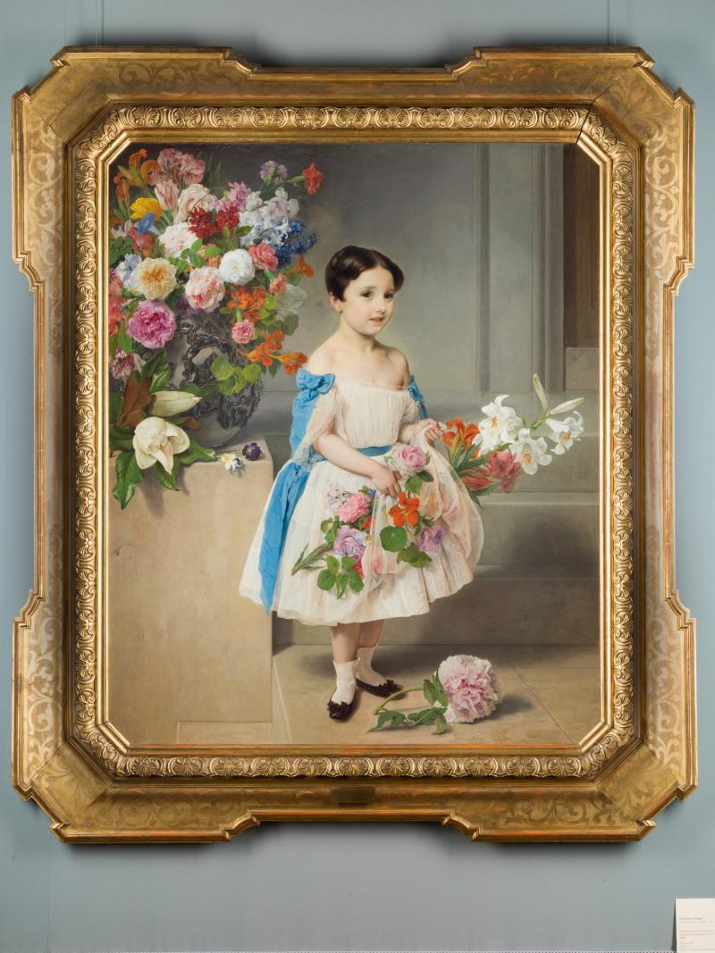 Contessina Antonietta Negroni Prati Morosini - Francesco Hayez - Galleria d'Arte Moderna_edit