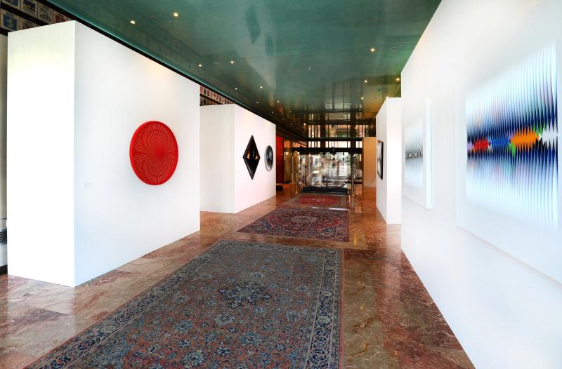 1 Alberto Biasi. Tra realtà e immaginazione  exhibition view  Palazzo Ferro Fini  Venezia  7.05-18.07.2019