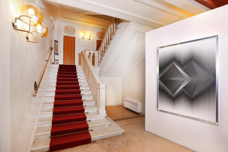 3 Alberto Biasi. Tra realtà e immaginazione  exhibition view  Palazzo Ferro Fini  Venezia  7.05-18.07.2019