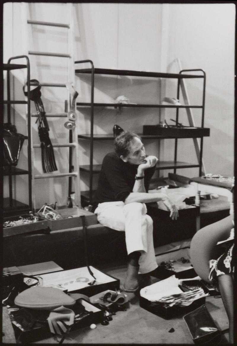 Pierre Cardin at work  1970