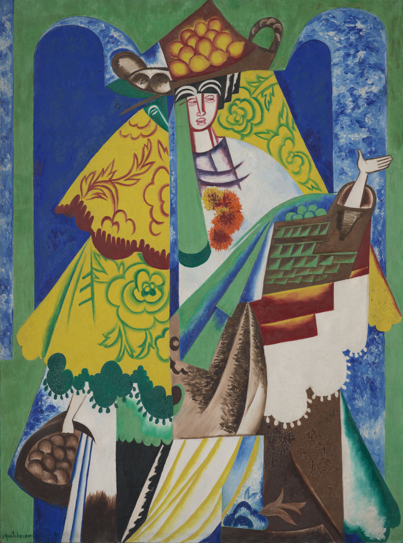 Goncharova-Orange-Seller-1916-X69058