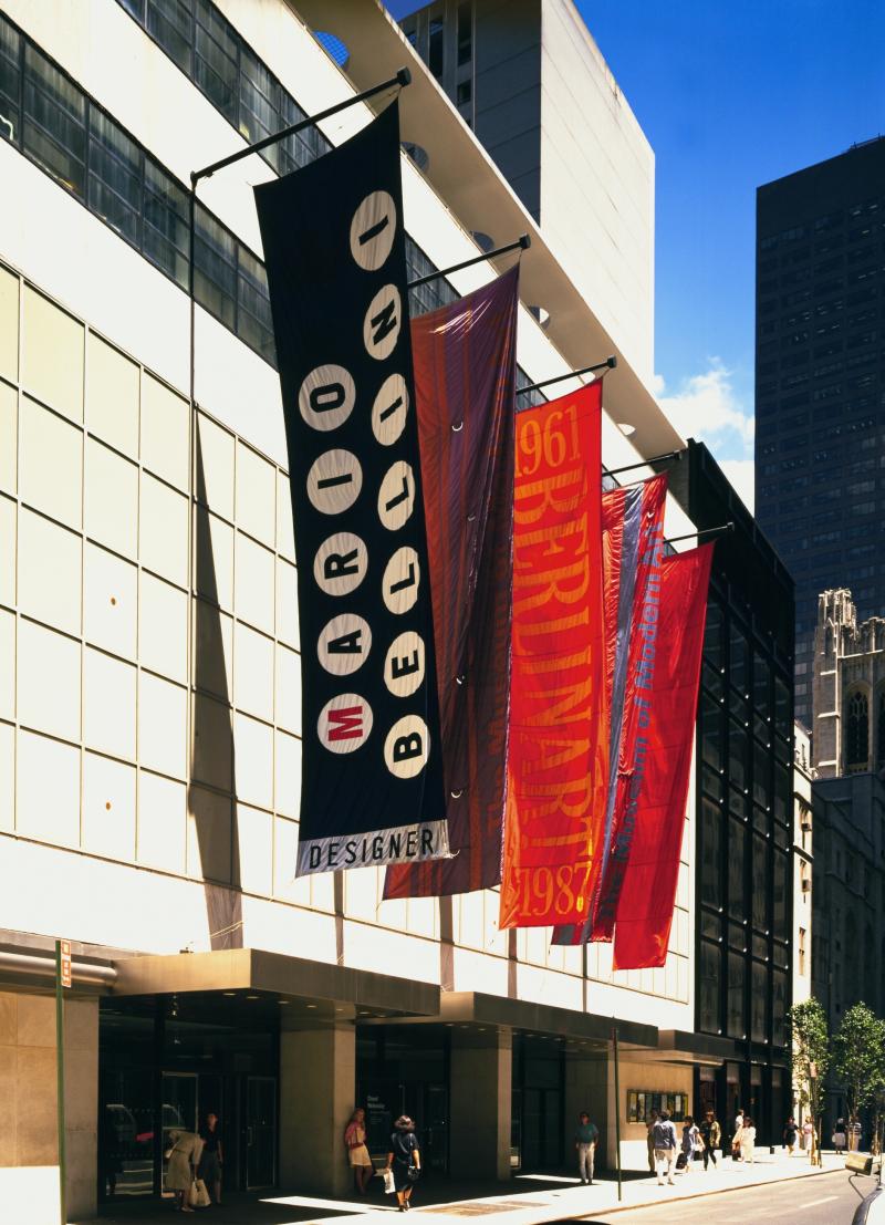 1987_MOMA New York (∏ Mario Bellini Archive)
