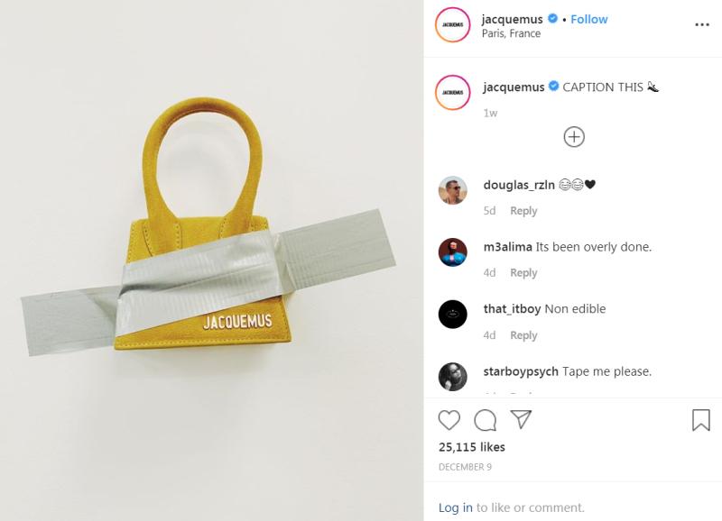 Instagram_Jacquemus_Cattelan