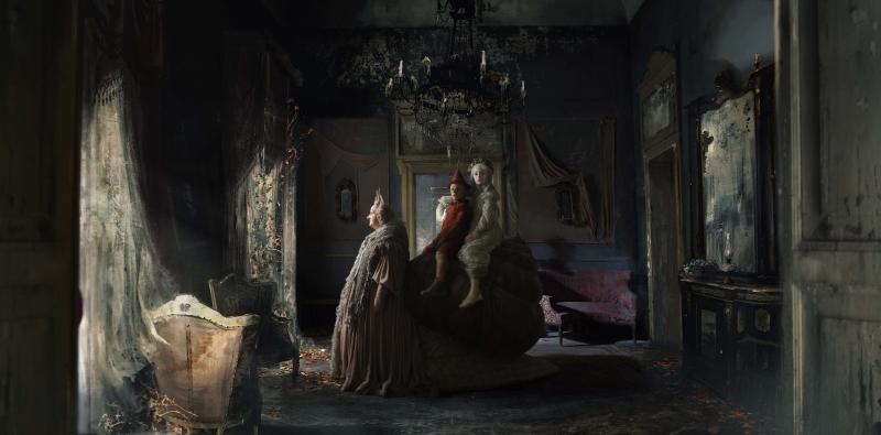 12 Foto di scena Fatina Lumaca e Pinocchio