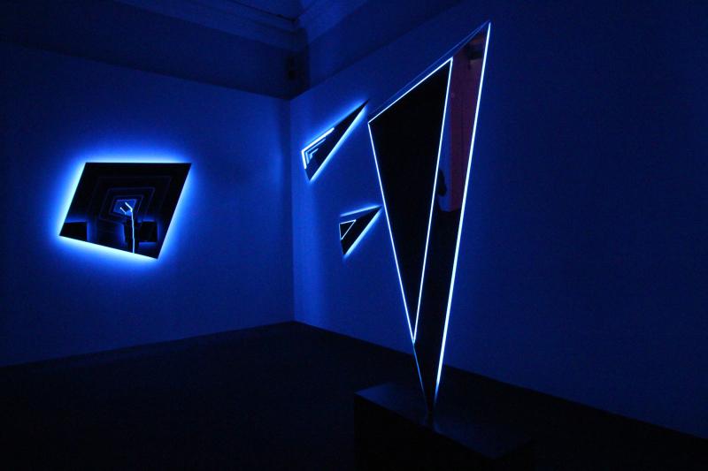 06_Exhibition view  Nanda Vigo  Palazzo Reale  Milano  2019  opere _Deep Space_a