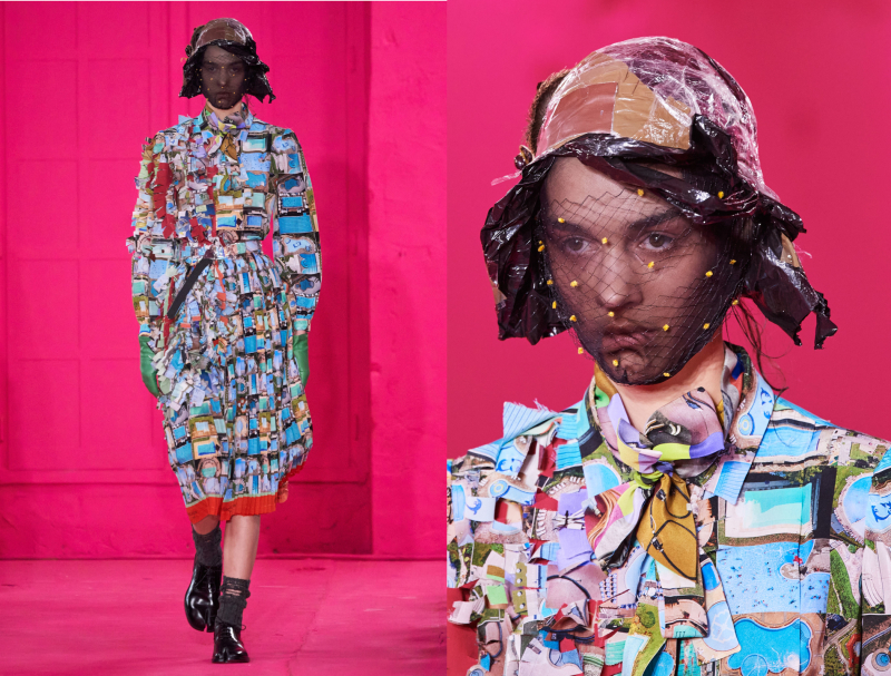 If Haute Couture Pays A Subtle Tribute To Google Earth Data Centers Irenebrination Notes On Architecture Art Fashion Fashion Law Technology