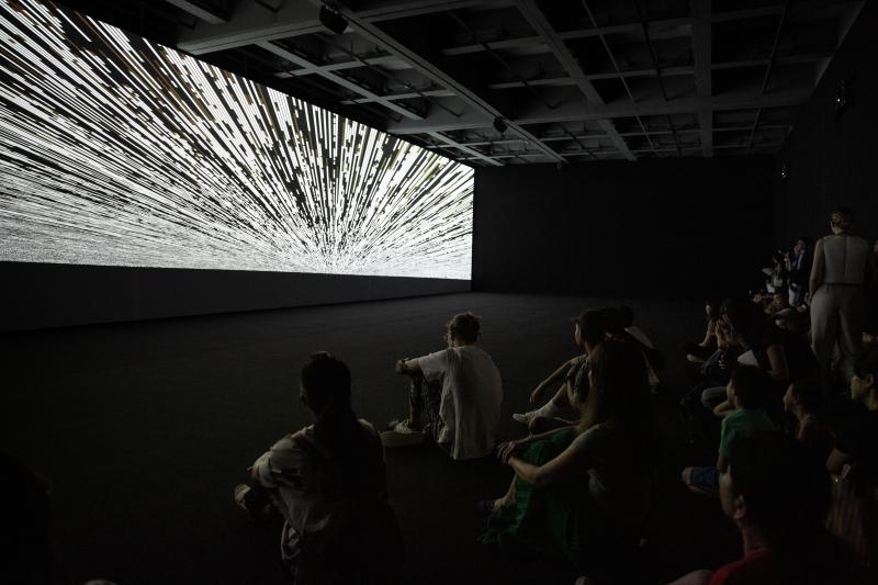 08_code-verse  Installation View  Ryoji Ikeda Solo Exhibition at Taipei Fine Arts Museum (TFAM) ©TFAM