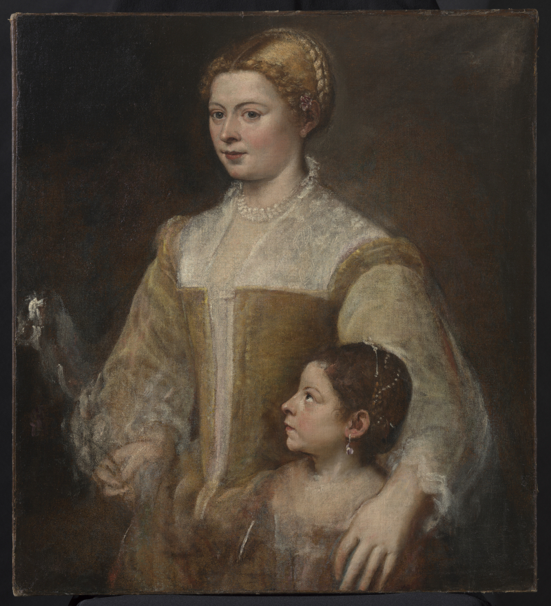 6_Titian_Lady and Her Daughter
