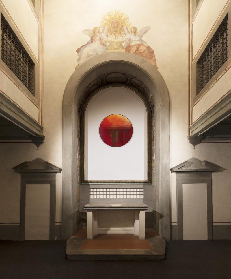 Eclisse Museo Novecento  Firenze foto installazione ph  Leonardo Morfini  OKNOstudio