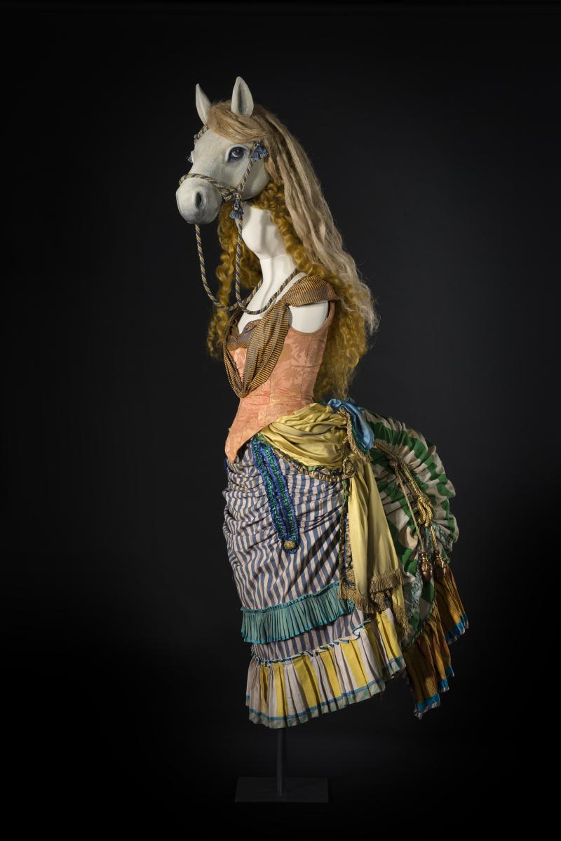 9 Costume Donna Cavallo