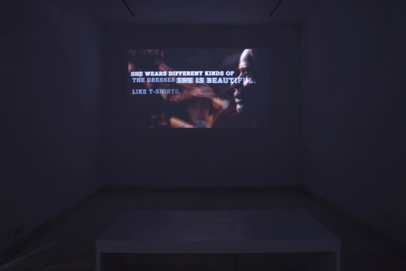 Installation view  Lahore Biennale  A Rich Tapestry  curated by Jonathan Watkins and Aisha Khalid  2020 © Ikon Gallery_a